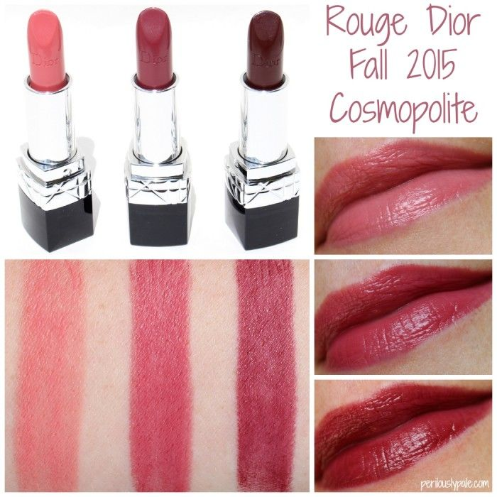 Dior Rouge Dior Lipstick in Nouvelle Femme, Continental, Unique ...