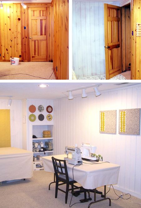 Paint Knotty Pine Or Tongue And Groove Wall Panelling Or