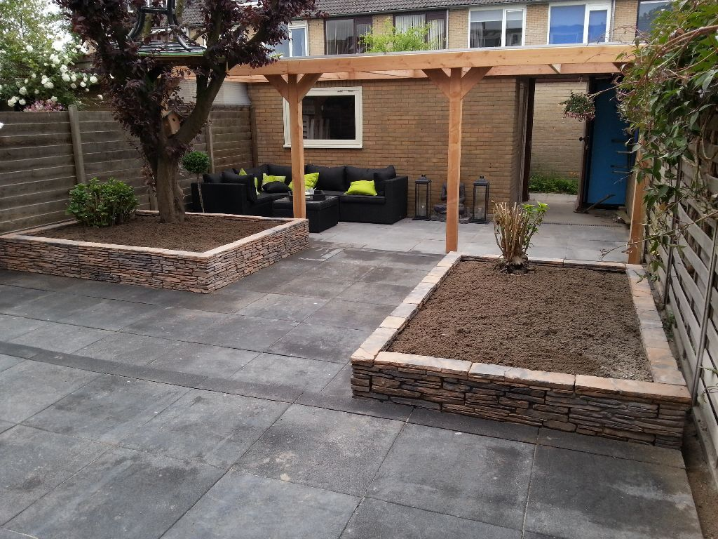 Afbeeldingsresultaat voor kleine tuin aanleggen tuin for Bestrating kleine tuin