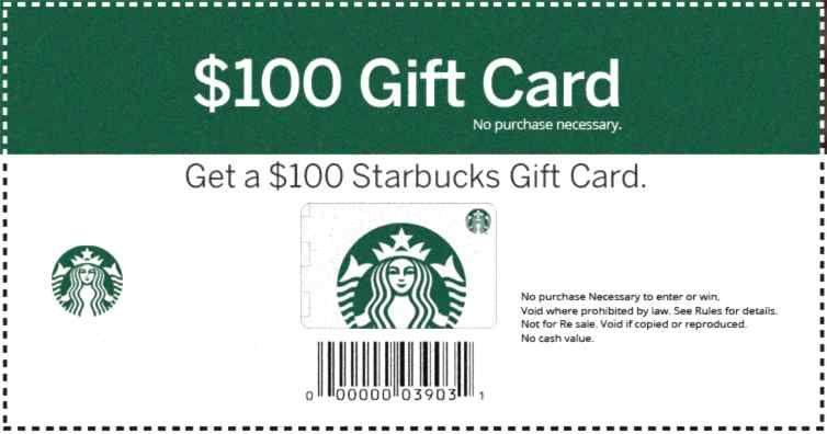 Get your card (1) per person Starbucks card, Starbucks
