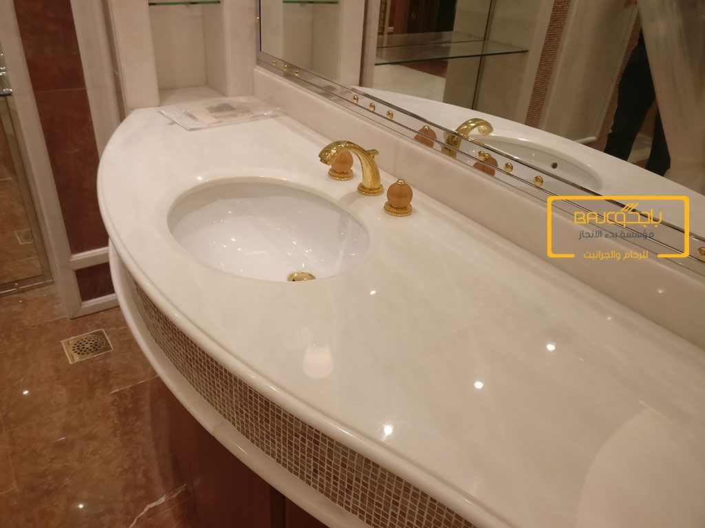 تركيب مغاسل Bathroom Bathtub Marble