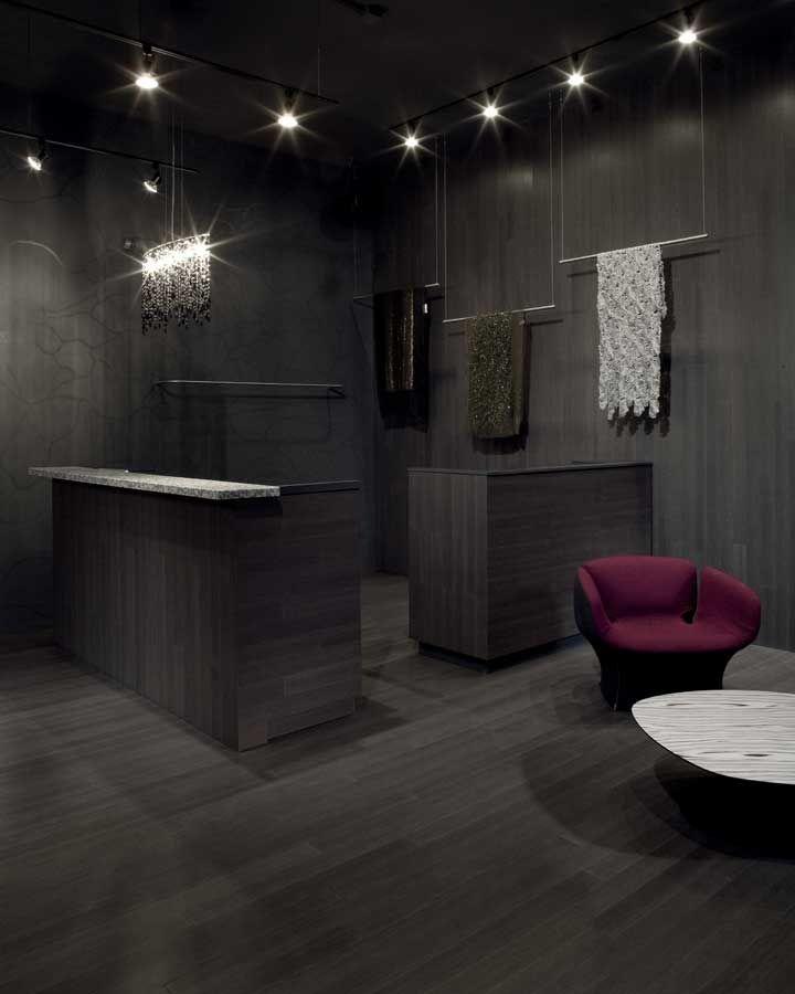 Bamboo Flooring Installation Photos - Maria Pinto Boutique - Chicago, IL | DuroDesign