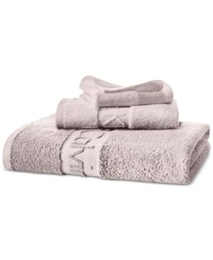 Calvin Klein Modern Cotton Iconic Hand Towel Pink Cosas