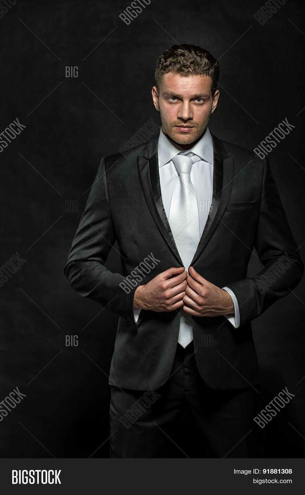 Young Handsome Businessmen In Suit With Images Photo Business