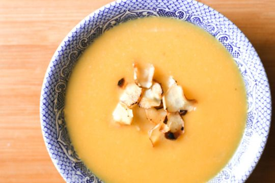 Butternut Squash and Parsnip Soup | frites & fries