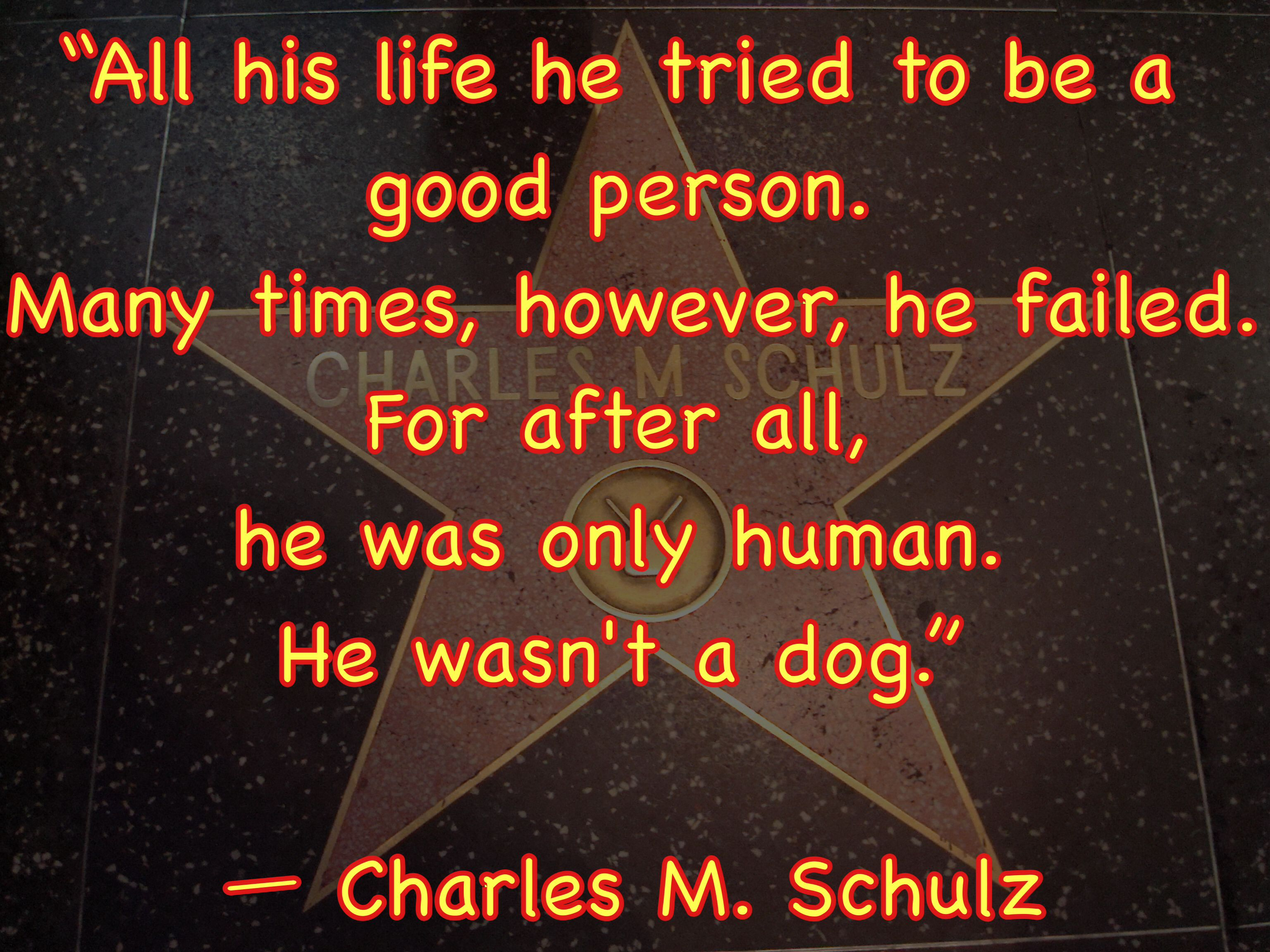 #CharlesSchulz on humans to #Dogs. #DrRandyPetVet
