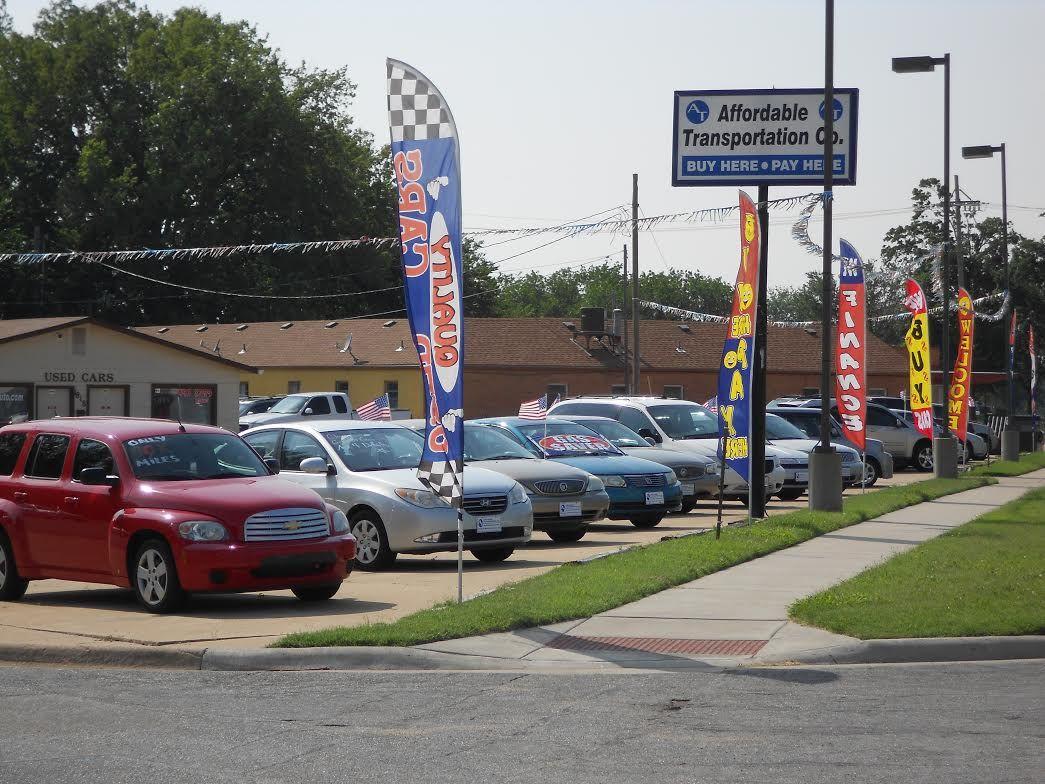 Cars dealership AffordableTransportation CompanySalina