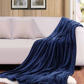 Throw Blankets For Couches Simple Bedsure Warm Cozy Flannel Couch And Bed Throw Blanket  College Decorating Inspiration