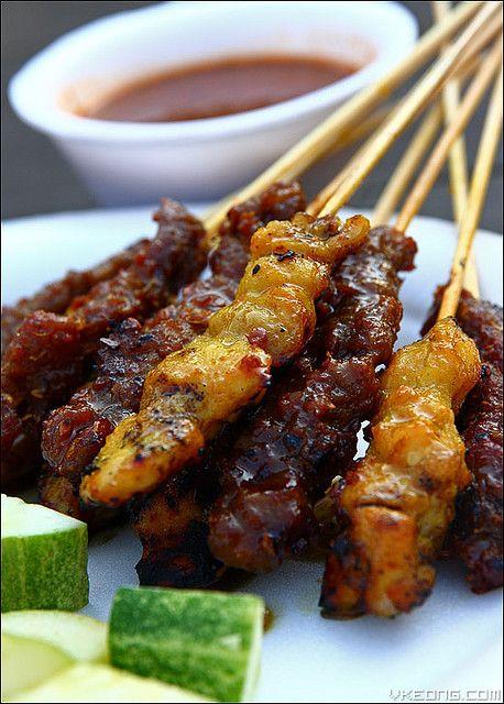 Malaysian satay beef and chicken yum pinterest chicken satay malaysian satay beef and chicken forumfinder Choice Image