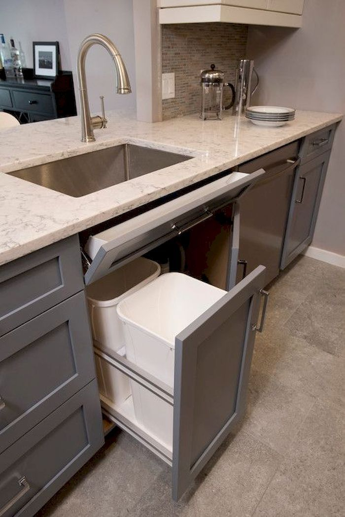 50+ Best Farmhouse Kitchen Sink Design Ideas And Decor #kitchendesignideas