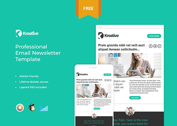 35 Best Responsive Html Email Templates Free Premium Learn To