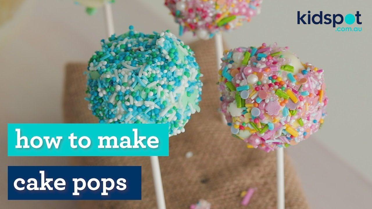 Cake pops   Kids party food   Kidspot