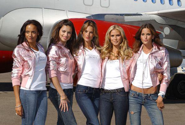 Victoria S Secret Models Arrive In Los Angeles Victorias Secret Models Model Victoria Secret Fashion Show