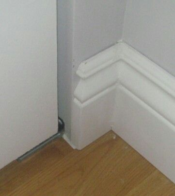 Chair Rail Pros And Cons Standing Desk Stool How To End Molding Baseboard At An Open Wall Edge