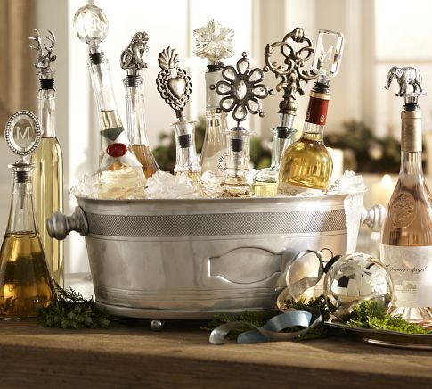 glass bottles & wine stoppers