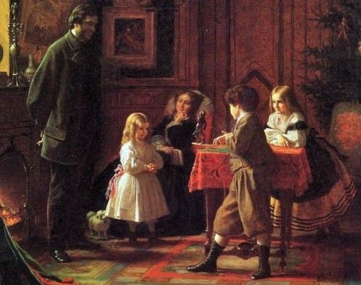 19th century Christmas
