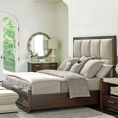 Lexington Laurel Canyon Upholstered Panel Bed Bedroom Pinterest
