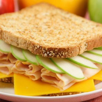 Turkey-Apple Melt Sandwich