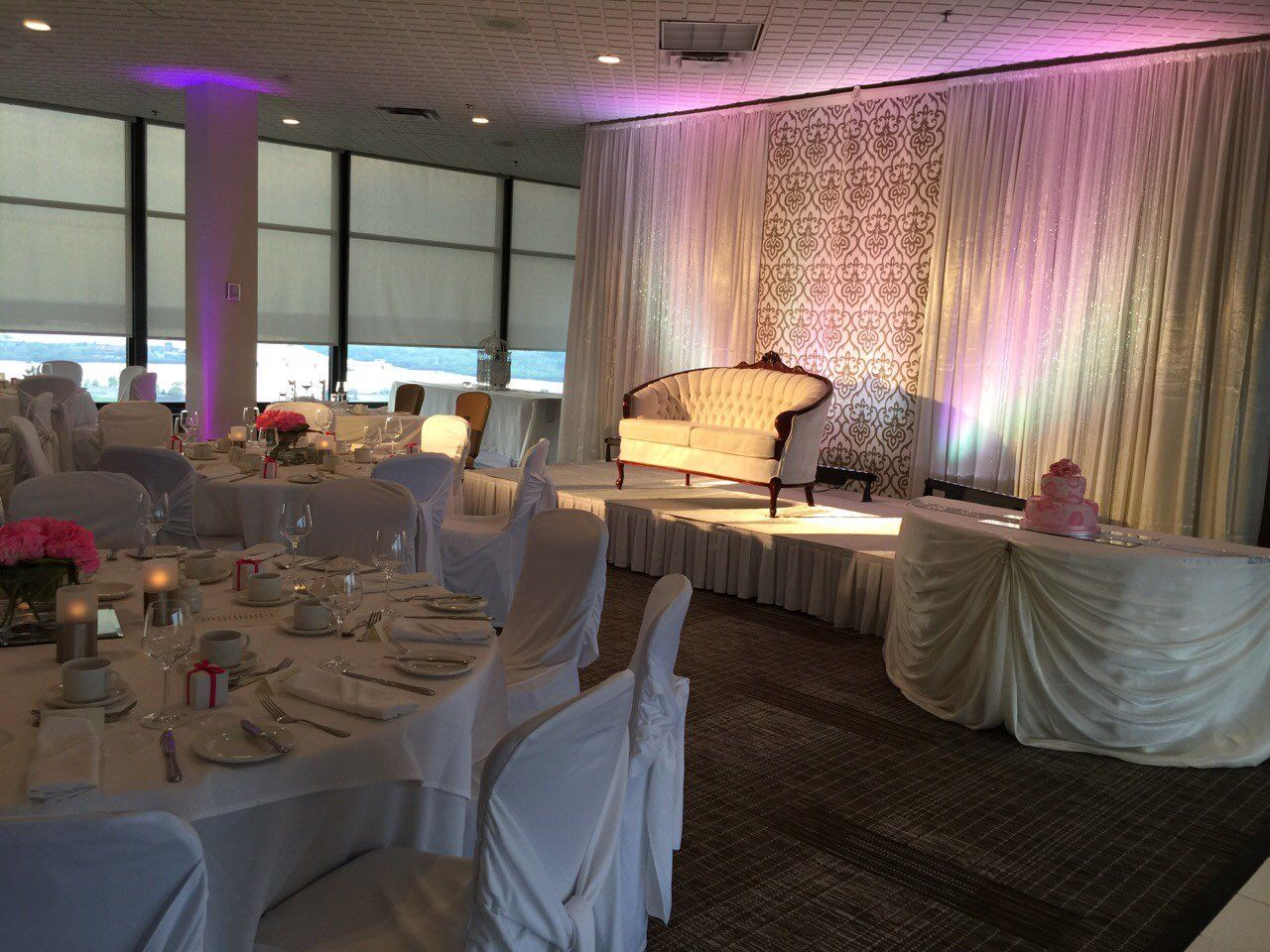 A S Wedding Reception At Delta Hotel Ottawa On By Design