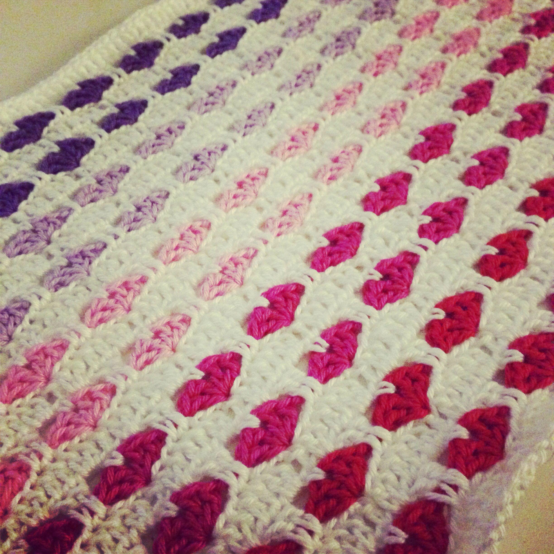Hartjes Deken Haken Crochet Sewing Projects Pinterest