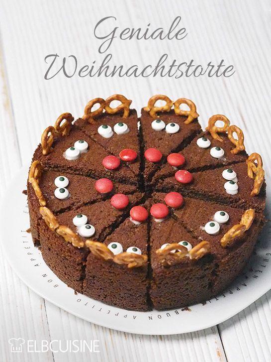 Rudolf the Red Nose, die Weihnachtstorte! – ELBCUISINE #kuchenideen