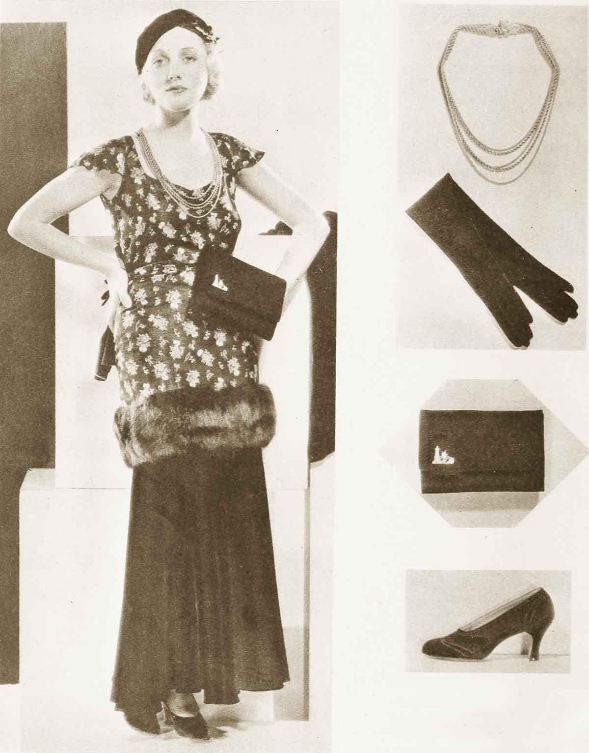 1930s Fashion A Study In Accessories