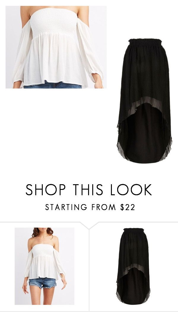 """Jaz"" by mia133514 on Polyvore featuring Charlotte Russe and River Island"