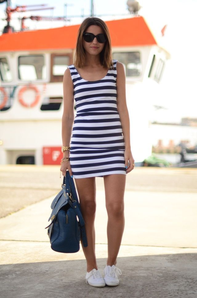 49b29be6695 Sporty Outfits   Picture Description What Shoes to Wear with a Sundress -   Sporty https