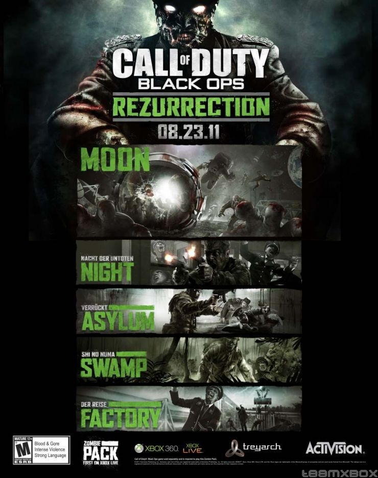 Rezurrection Call Of Duty Call Of Duty Zombies Call Of Duty