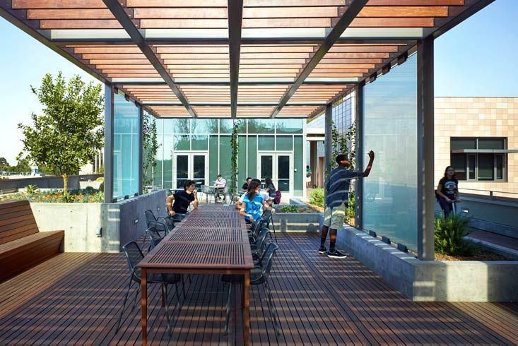Boora Architects Harvey Mudd College Learning Building School Outdoor Classroom Outdoor Classroom Outdoor School