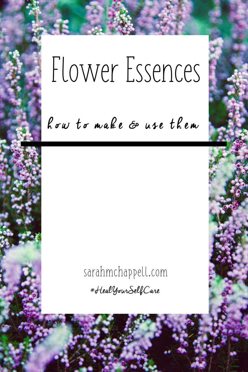 How To Make Flower Essences Sarah M Chappell Flower Essences Bach Flower Remedies Essence