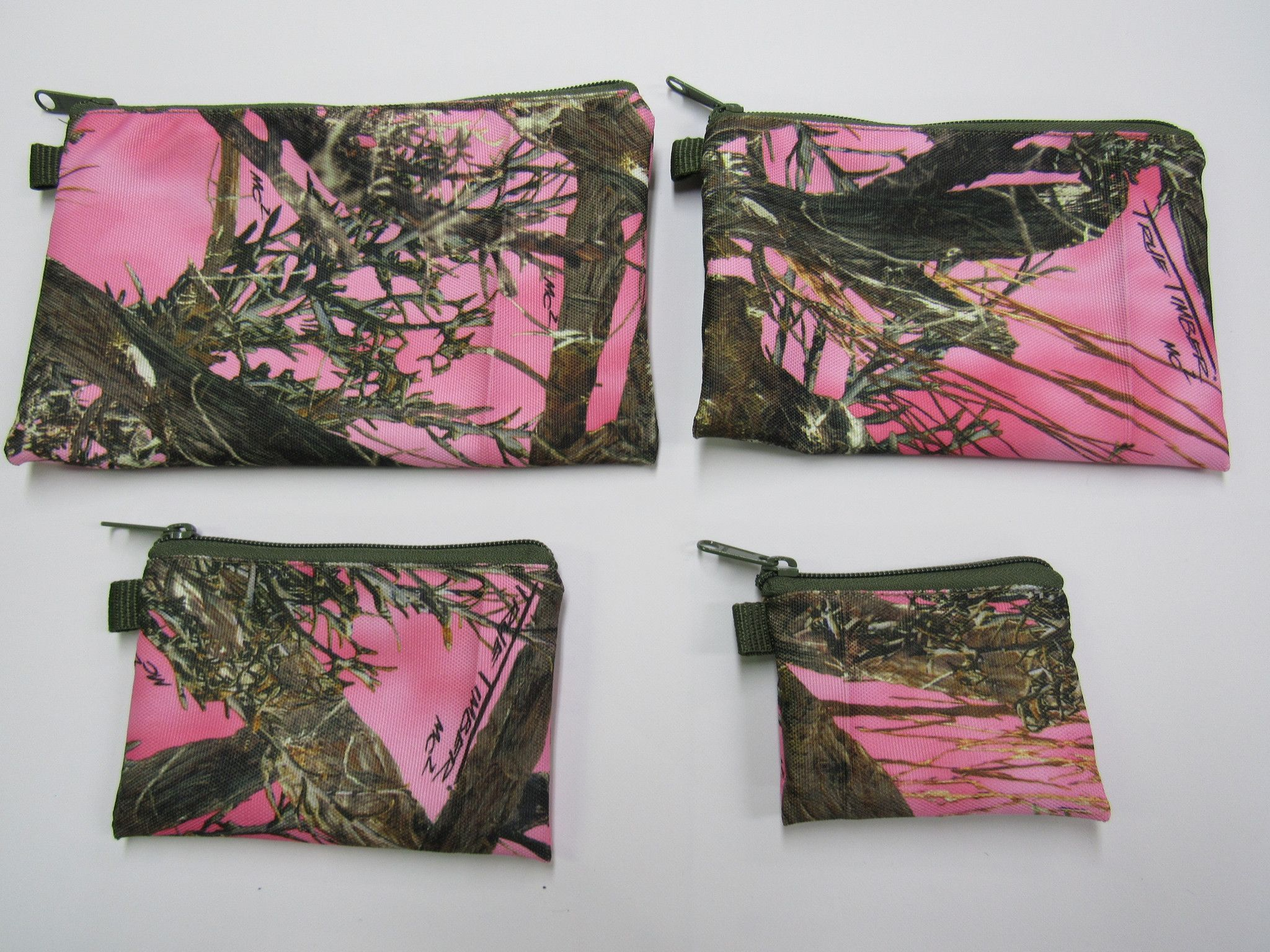 Zippered Pouches - CAMO