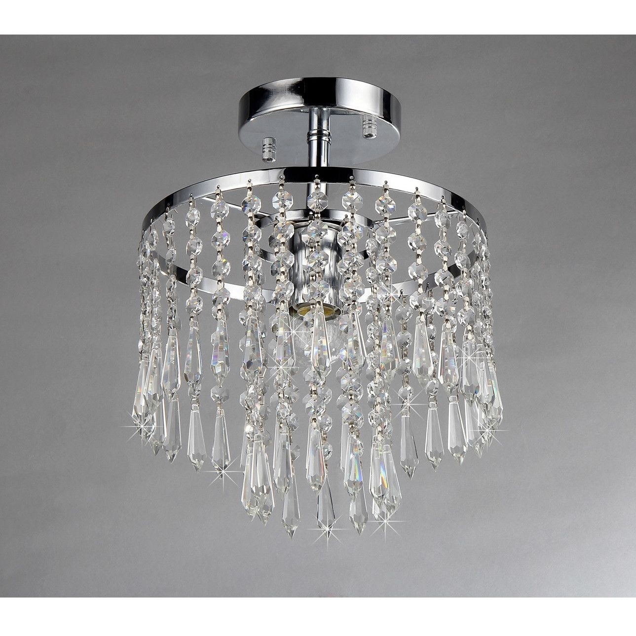 Warehouse Of Tiffany Seek Semi Flush Mount