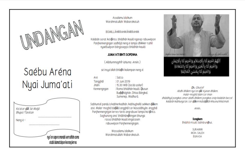 13++ Undangan musyawarah masjid information