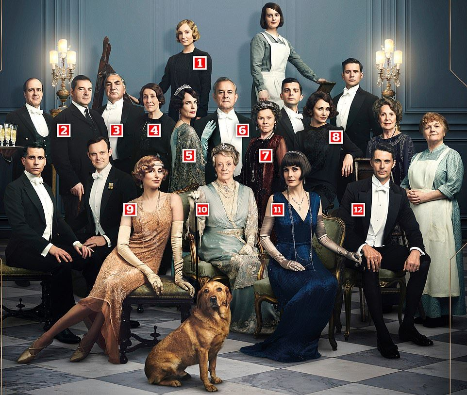 First Cast Photo Revealed For The Upcoming Downton Abbey Film