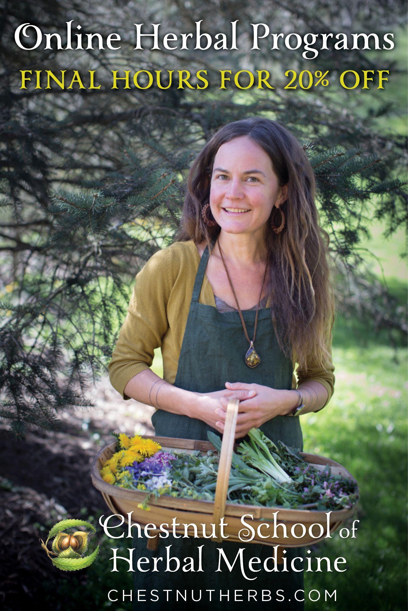 Final hours to save 20 herbal medicine herbalist
