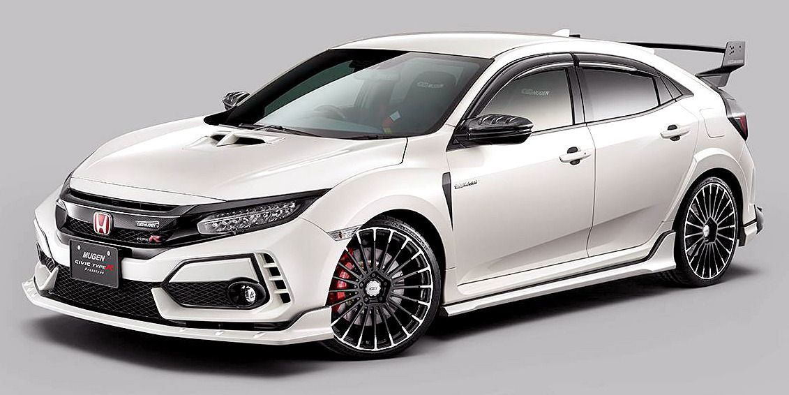 Mugen Civic Type R Prototype, 2019. Another Mugenmodified