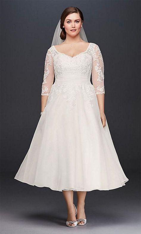 Brautkleider für große Größen | Brautkleid, Hochzeitskleid ...