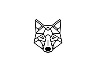 Simple Geometric Wolf Tattoo Design Geometric Wolf Tattoo Geometric Tattoo Design Simple Wolf Tattoo
