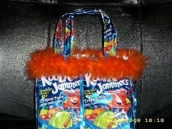 Kool Aid Juice Bag Purse Recycled Plastic Bags Crafts Sewing Projects