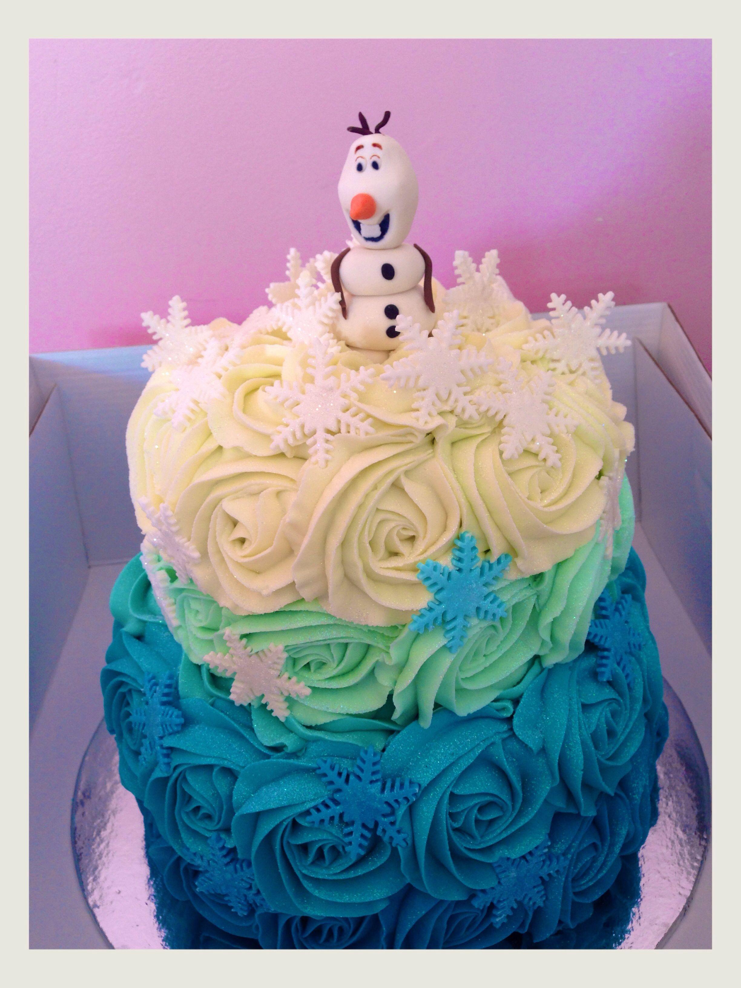 Frozen Cake by SweetiePie Cupcakes. Auckland. New Zealand