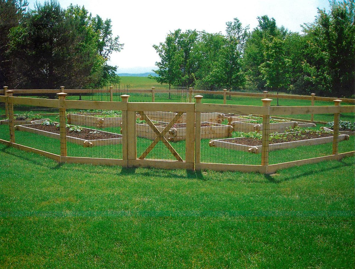 attractive garden fencing Tillys Nest A Simple Garden Fence
