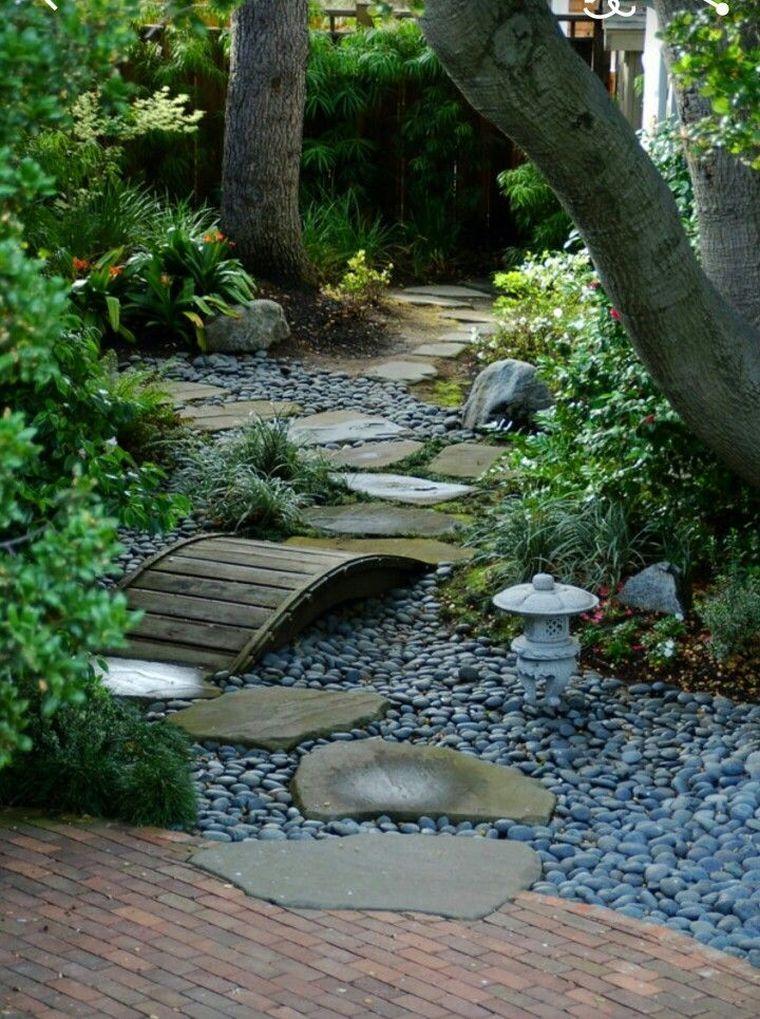 une allée de jardin japonaise pour son extérieur | Idées ...