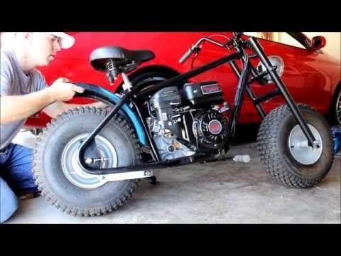 Make Your Own Bike Custom Baja Mini Bike Project 212cc Mini