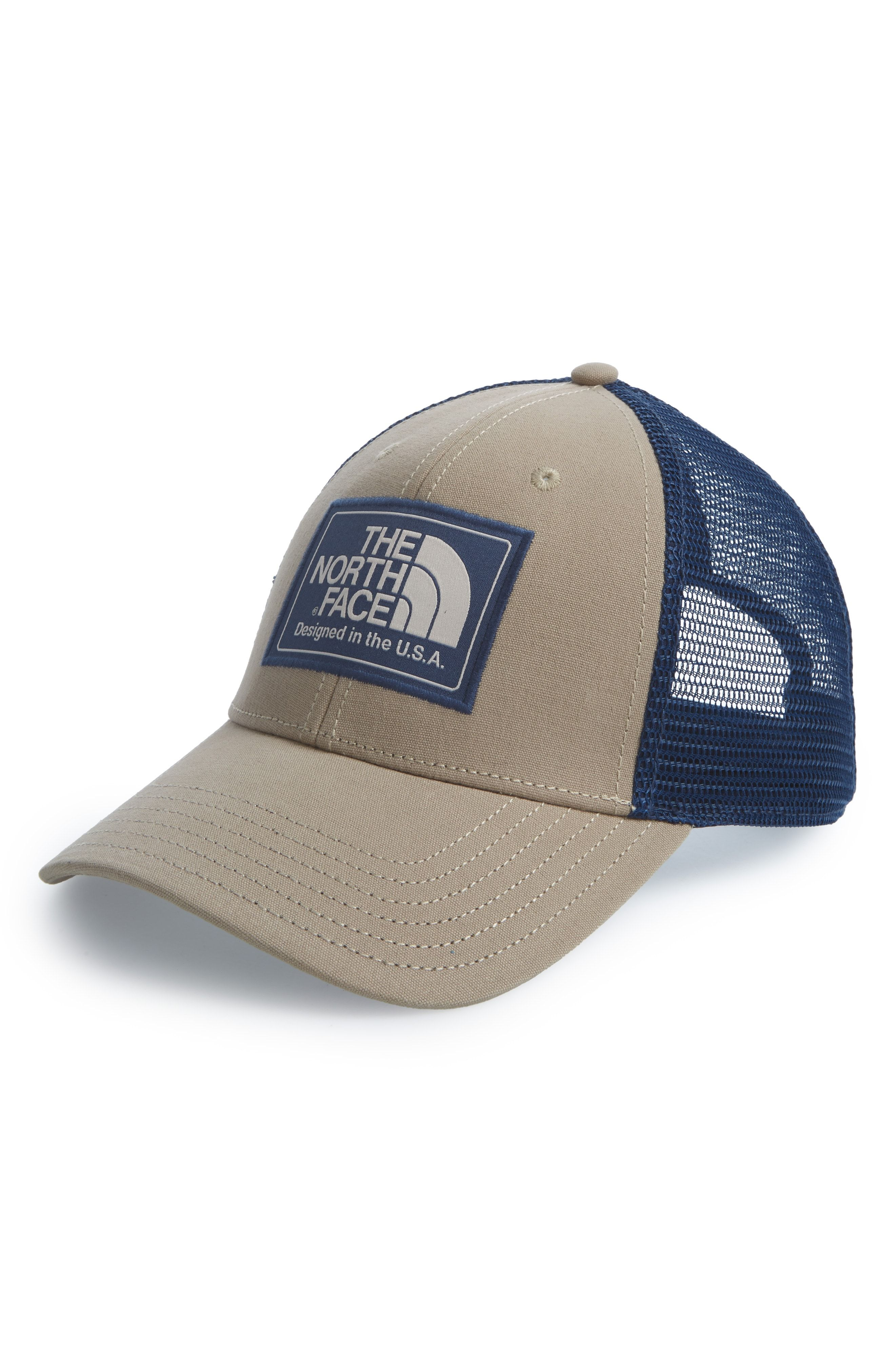 8cb5411e3dcf3 THE NORTH FACE MUDDER TRUCKER HAT - BEIGE.  thenorthface