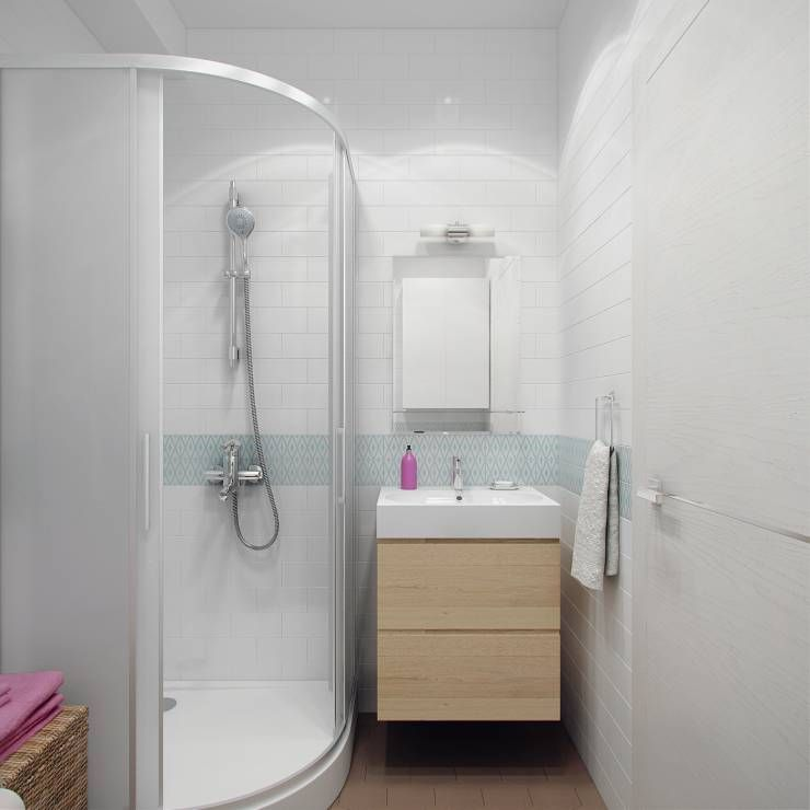 8 verblüffende Ideen für kleine Bäder Twins - ideen für kleine badezimmer