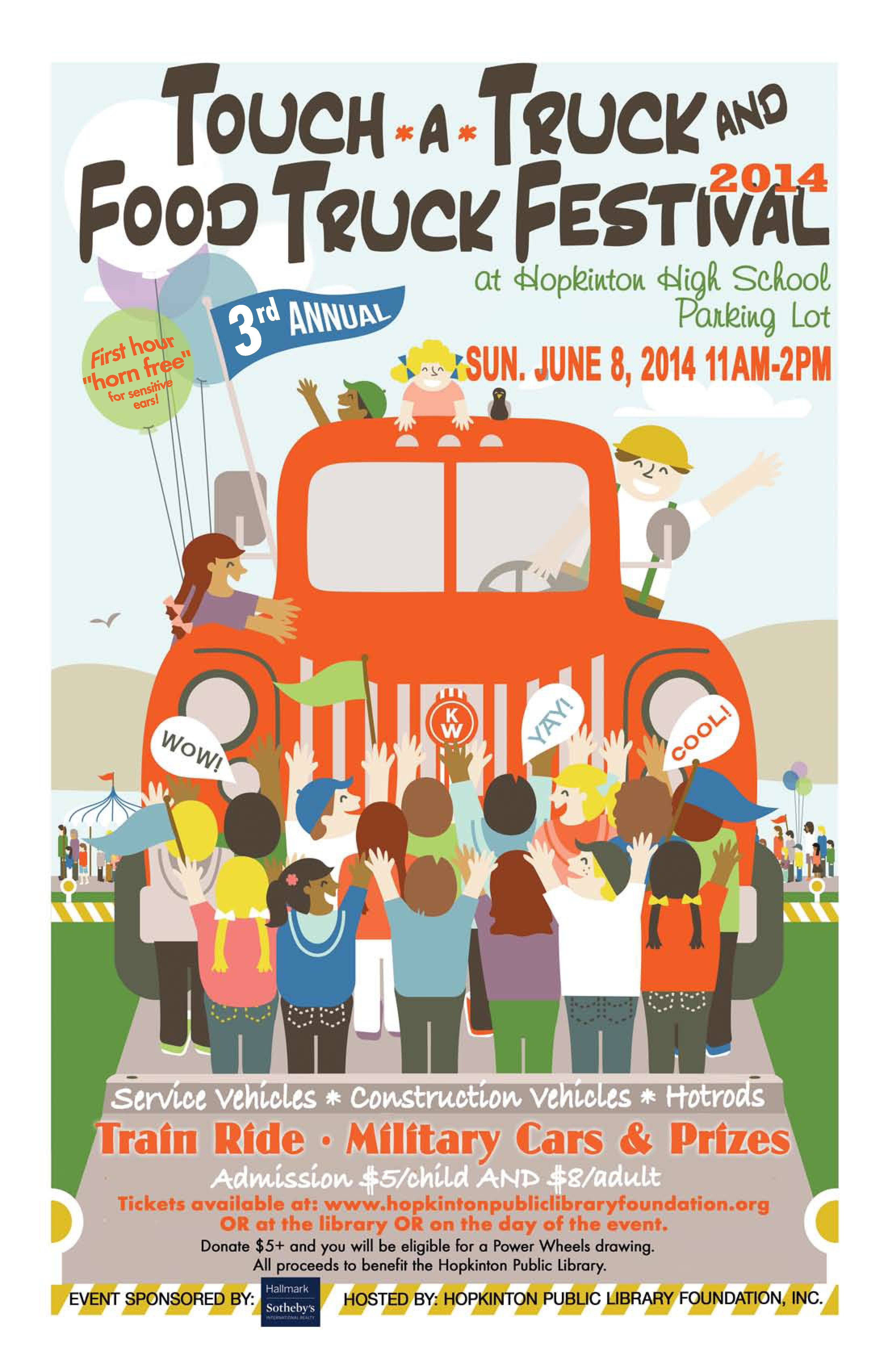 touch-a-truck and food truck festival   fundraising   pinterest