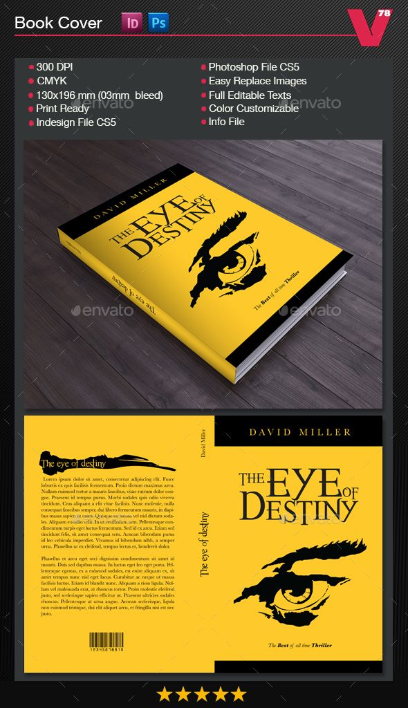 Book Cover Graphicriver ~ Book cover — photoshop psd write school available here