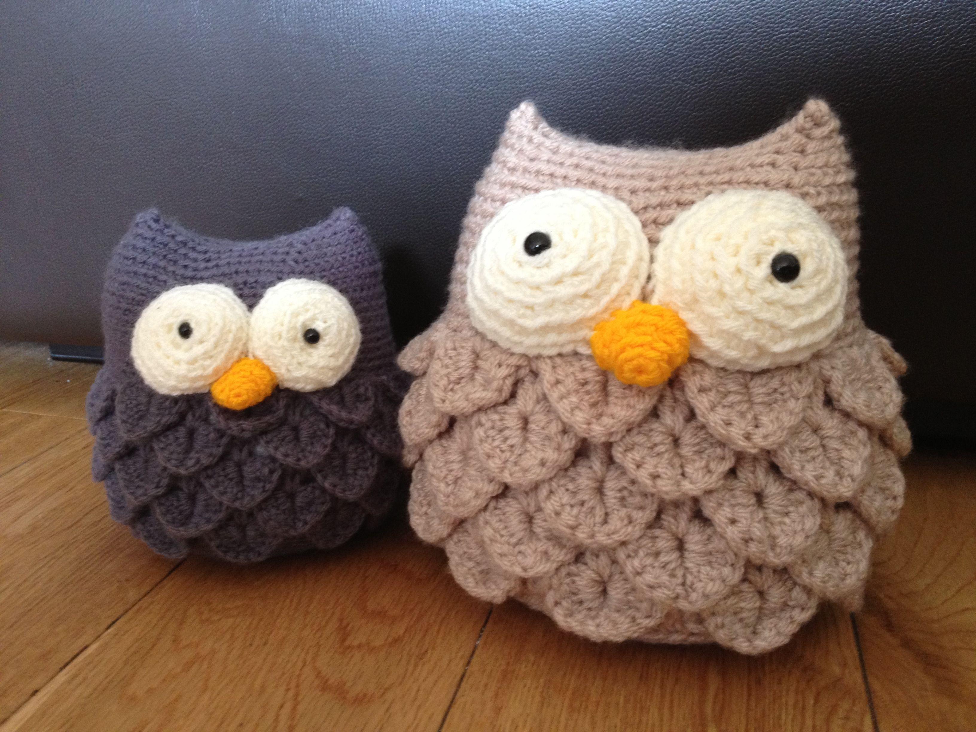Owl Doorstops Crochet And Knitted Toys Pinterest Owl