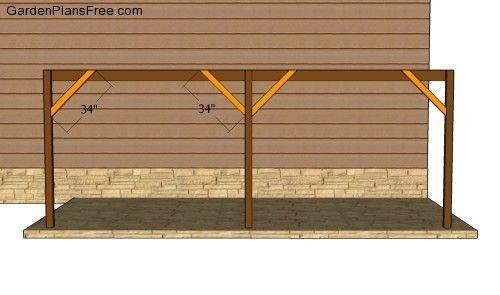 Attached Carport Plans Free Garden Plans How To Build Garden Projects Carport Plans Building A Carport Carport Designs